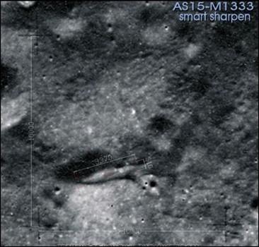 Сенсация на луне обнаружена база нло